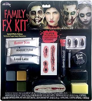 Horror-Shop Kit De Maquillaje De Halloween Family FX: Amazon.es ...