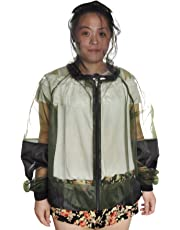 GOGO Mosquito Repellent Clothing Jacket With Pants Bug Suit-S