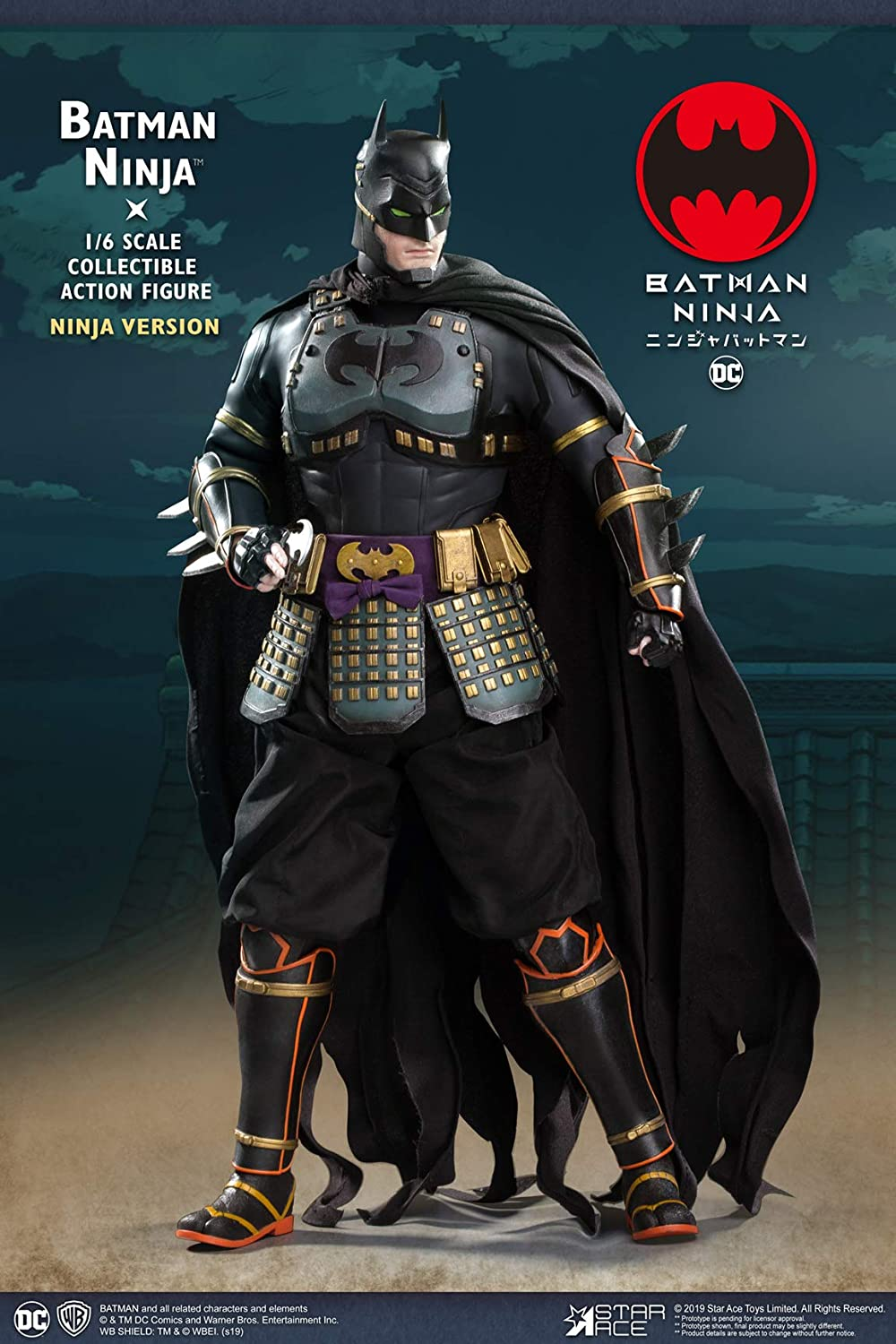 Amazon.com: Star Ace Toys Batman Ninja Version 1: 6 Scale ...
