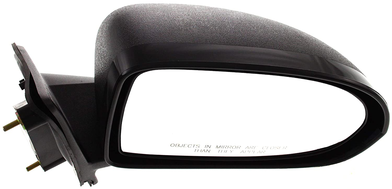 NEW RIGHT MANUAL MIRROR TEXTURED BLACK FITS 2007-2017 JEEP COMPASS CH1321266