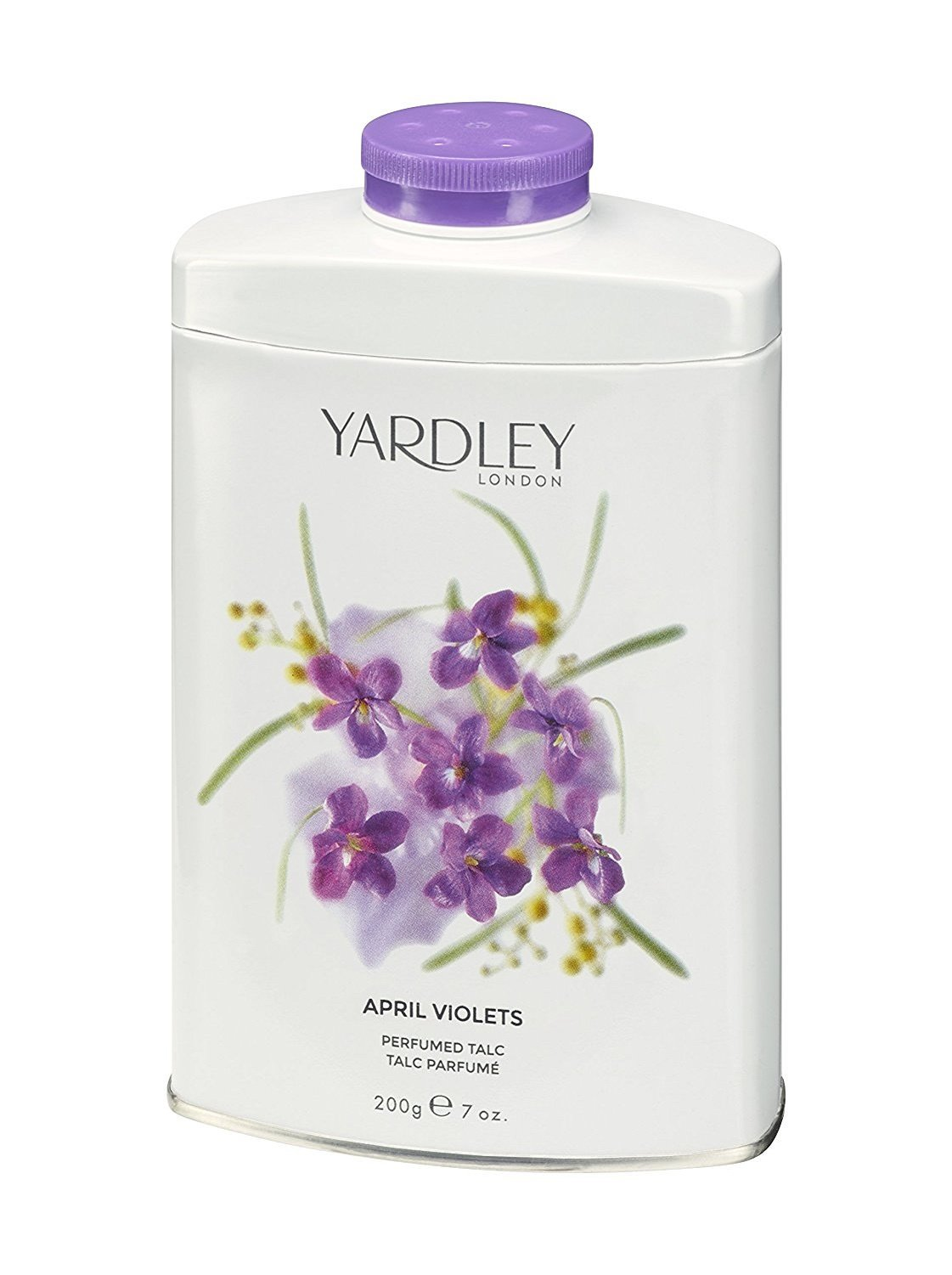 April Violets By Yardley London 7 oz Talc for Women