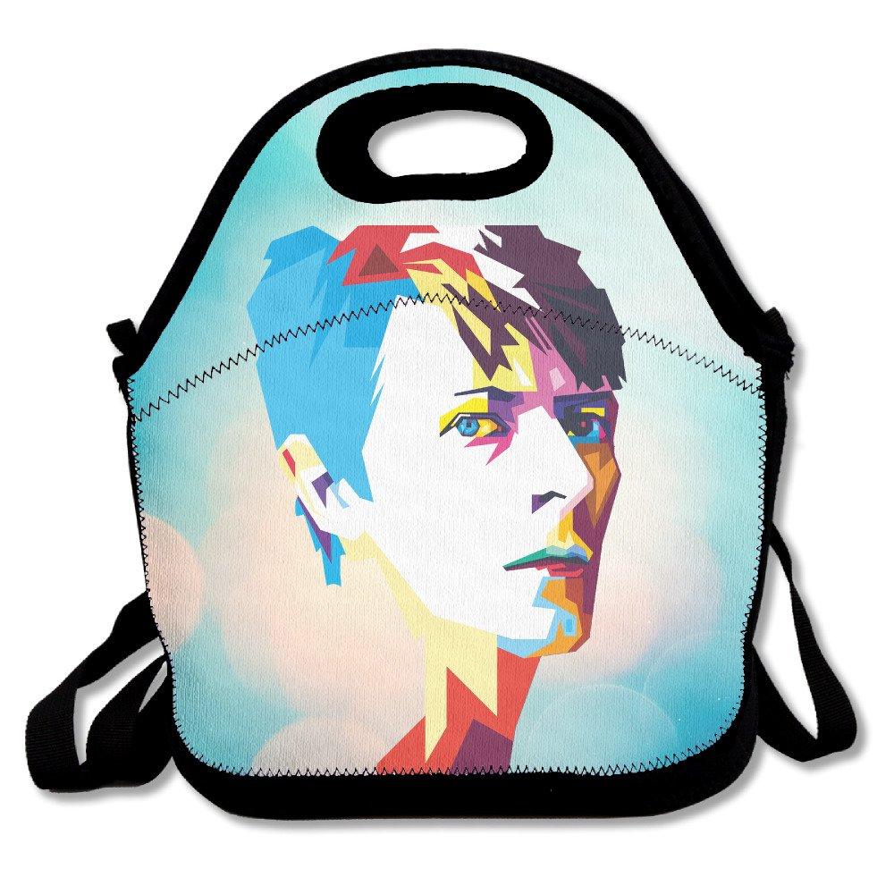 /Bolsa para el almuerzo bolsa caja de almuerzo neopreno bolso para ni/ños y adultos para viajes y Picnic escuela bakeiy David Robert Jones/