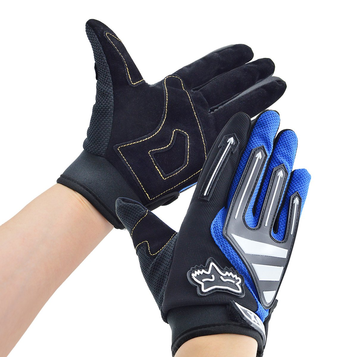Motorcycle gloves to prevent numbness - Bicycle Gloves Xiyalri Bike Motorcycle Gloves Men Women Full Finger Gloves Arrow Style Blue Size L Amazon Co Uk Sports Outdoors