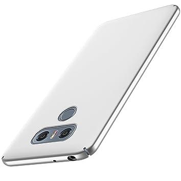 anccer Funda LG G6 [Serie Colorida] [Ultra-Delgado] [Ligera] Anti-rasguños Estuche para Carcasa LG G6 (Plata)