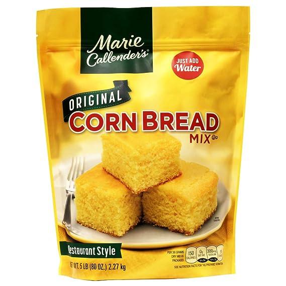 Amazon Com Marie Callender S Original Cornbread Mix 5 Lbs Bag Marie Calenders Cornbread Mix Grocery Gourmet Food