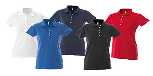 626 - Polo De Trabajo Para Mujeres - Talla - XL - Color - Royal ...