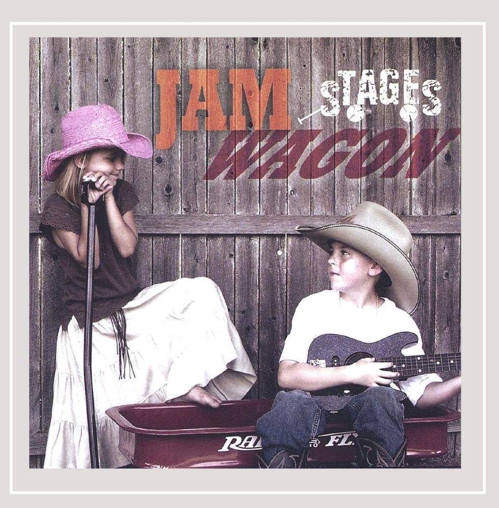 CD : Jam Wagon - Stages (CD)