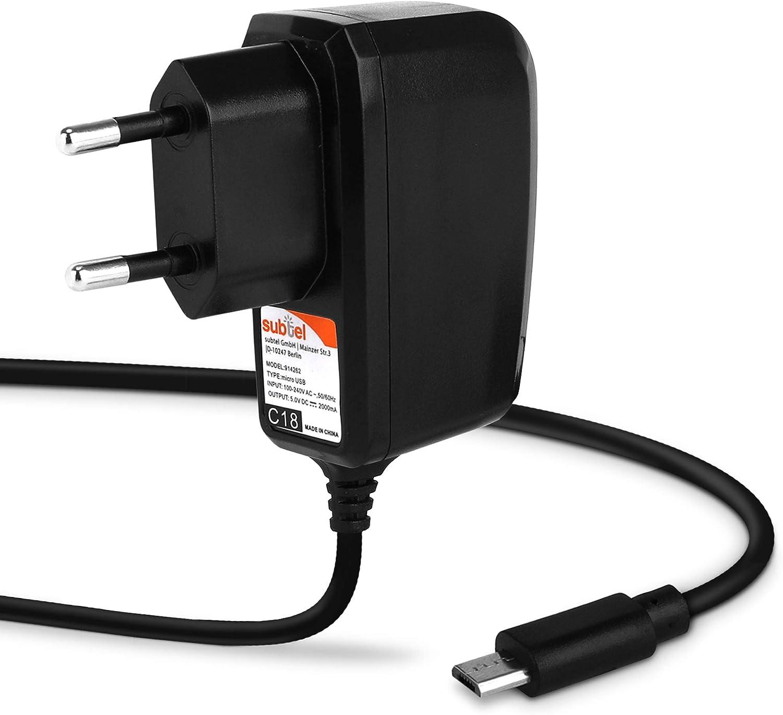 Subtel Qualitäts Ladekabel 1 2m 2a Elektronik