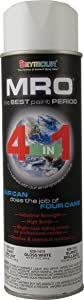 Seymour 620-1413 Industrial MRO High Solids Spray Paint, Gloss White