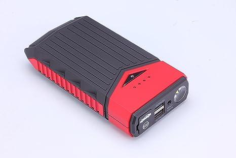 ibeecool® Cable de puente, 400 Amp pico con 12000 mAh Car Jump Starter,