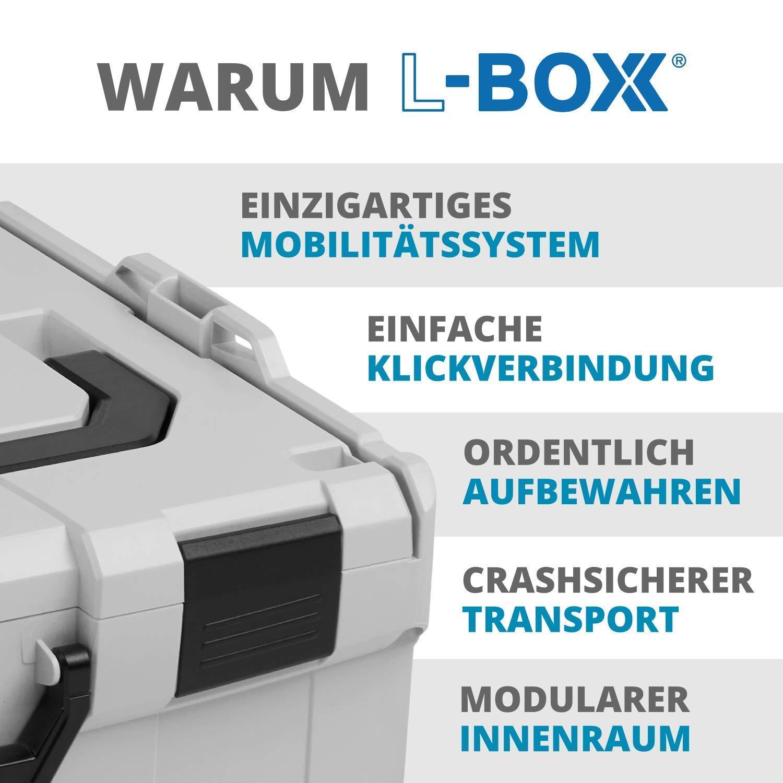 Premi/ère Classe Tri pour Petites Pi/èces L-BOXX 102 Bo/îte de Cloisonnement Sortimo Bosch Id/éale Boite de Rangement Vis Petit B3 Inserts avec