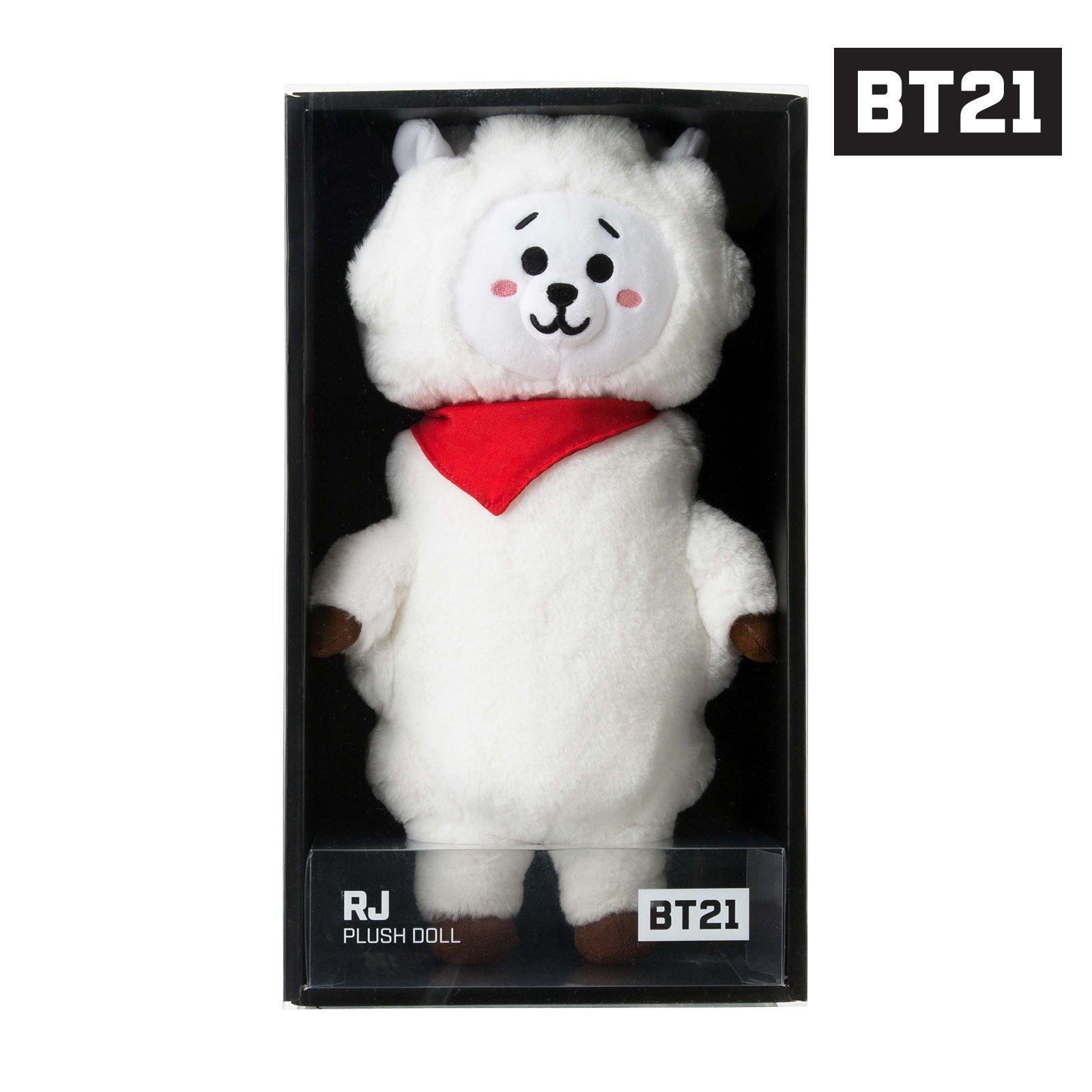 BT21 RJ Standing Plush Doll Medium White by BT21 (Image #8)