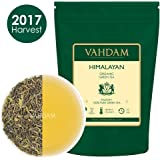 Organic Green Tea Leaves from Himalayas (50 Cups), 100% Natural Detox Tea, Powerful Anti-Oxidants, 2017 Fresh Harvest, Green Tea Loose Leaf, 3.53oz