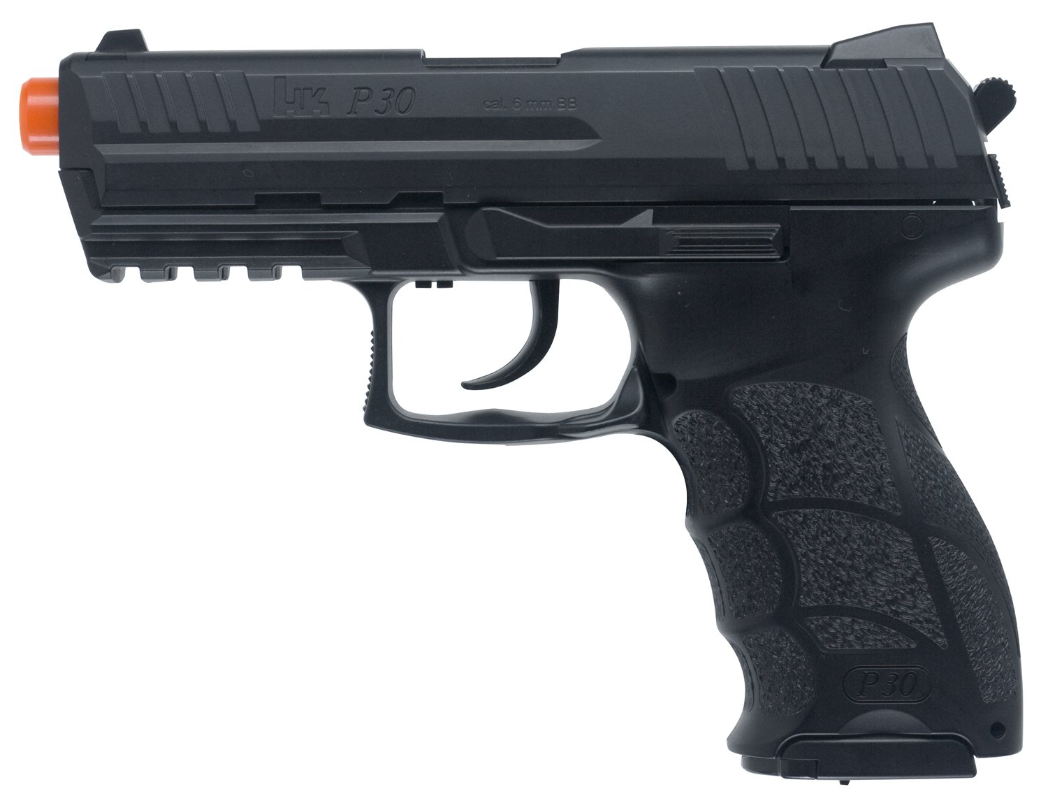 Amazon.com : HK P30 6mm Airsoft with Metal Slide : Airsoft Pistols
