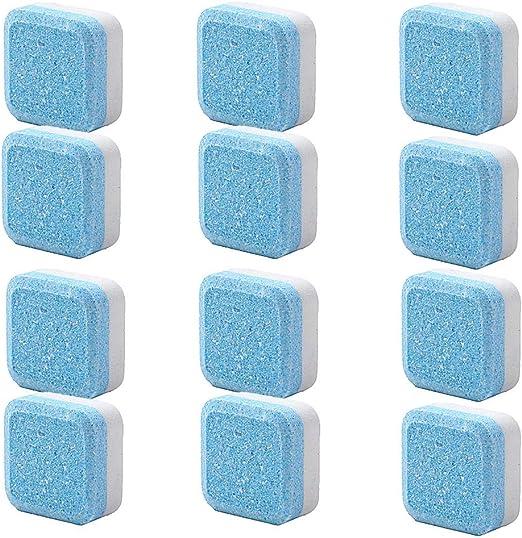 SUIYUE Tabletas efervescentes para Lavadora Tabletas para Limpieza ...