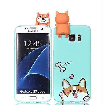 HopMore Compatible para Funda Samsung Galaxy S7 Edge ...