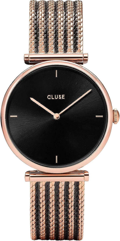 Cluse Reloj para Mujer de Cuarzo con Correa en Acero Inoxidable CW0101208005