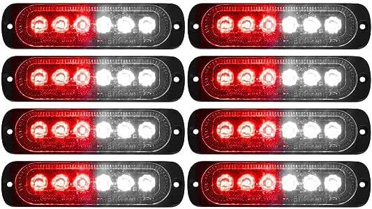 DNA Motoring Chrome 3BL-CHA06-3D-LED-CH 3D LED Bar 3rd Tail Brake Light Rear Center Stop Lamp