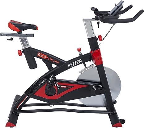 FYTTER Rider RI-06R. Bicicleta de Spinning con 22 kg de Rueda de ...