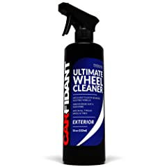 Carfidant Ultimate Wheel Cleaner Spray - Premium Rim & Tire Cleaner - Safe for all wheels and rims! - Removes Brake Dust! - Safe for Aluminum Alloy Mag Chrome Painted Clearcoated Polished Plast