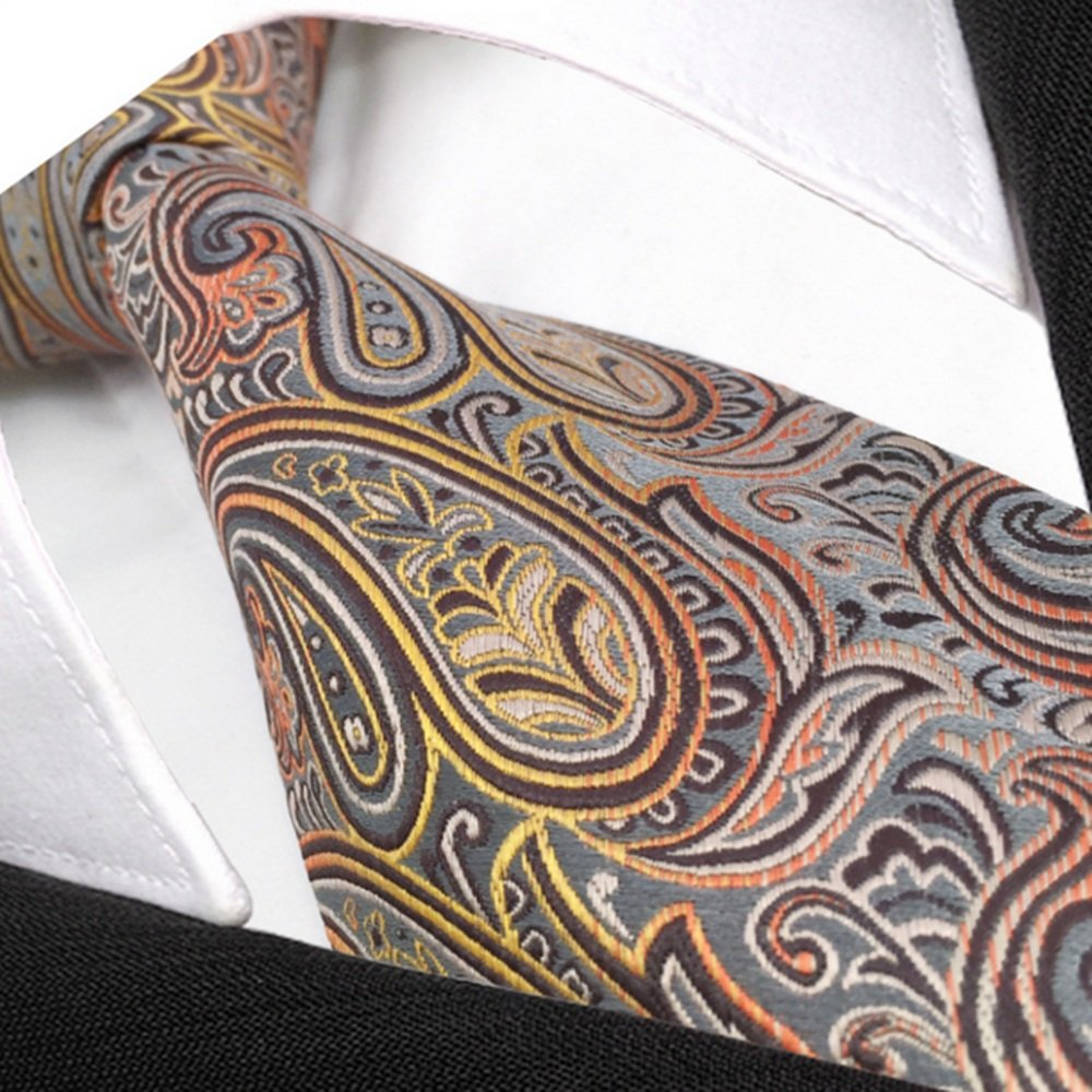 Neck Bowtie Mens Silk Dress Business Career Extension Tie Multicolor Pattern Gentleman Fashion Accessory
