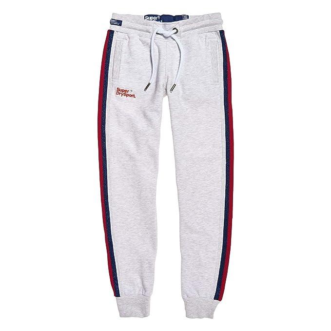 Superdry Diamond Label - Pantalones de Deporte para Mujer: Amazon ...
