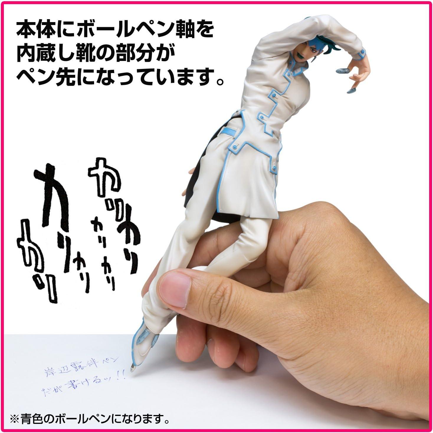 Anime JoJo/'s Bizarre Adventure Rohan Kishibe Metal Fountain Pen Ink Set Gift