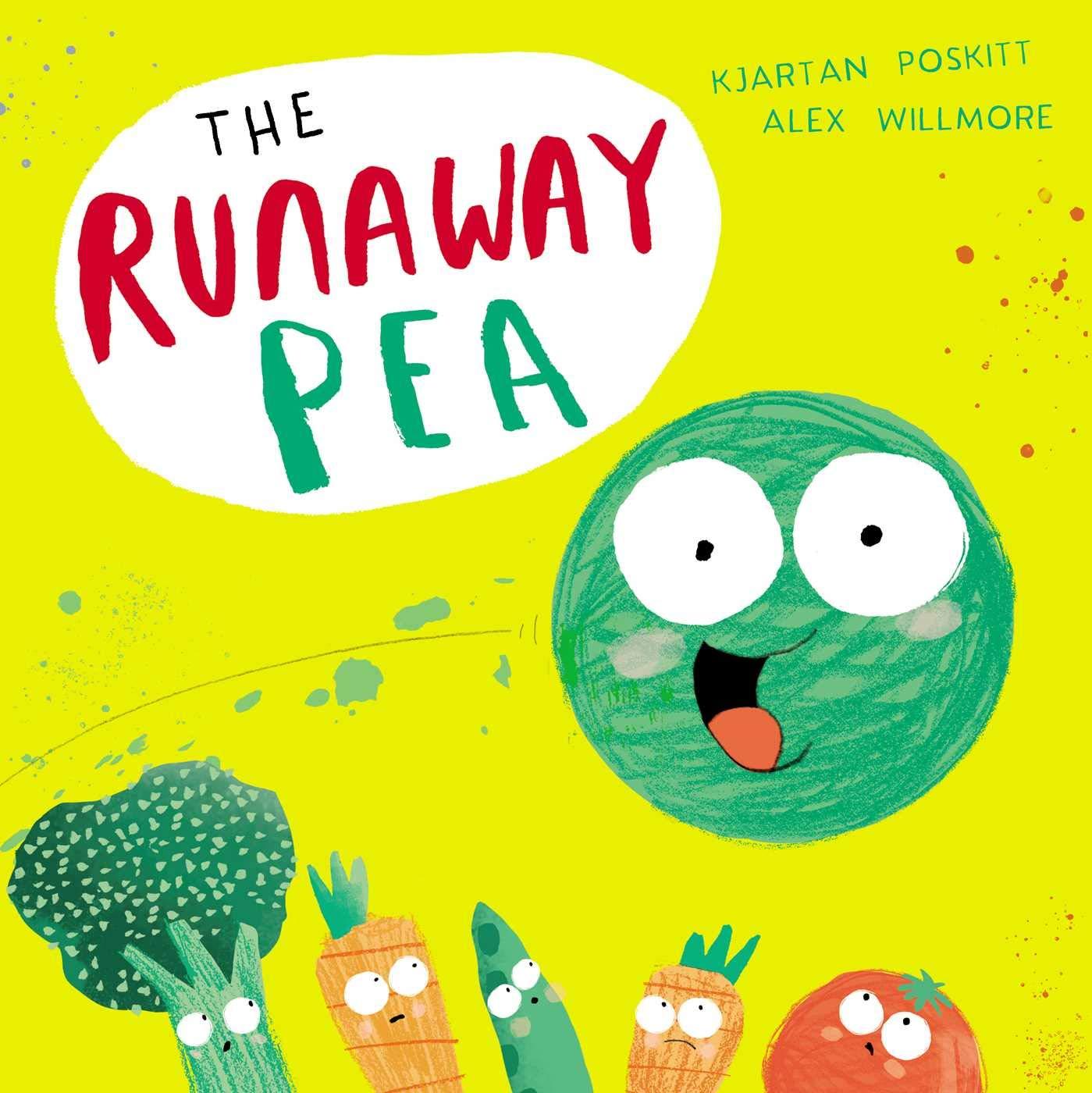 The Runaway Pea: Amazon.co.uk: Kjartan Poskitt, Alex Willmore ...
