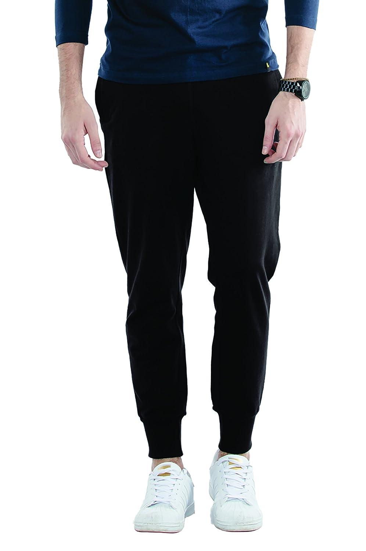 Bewakoof Men's Cotton Fleece Joggers Track Pants