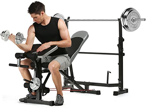 Strength Training Olympic Weight Benche