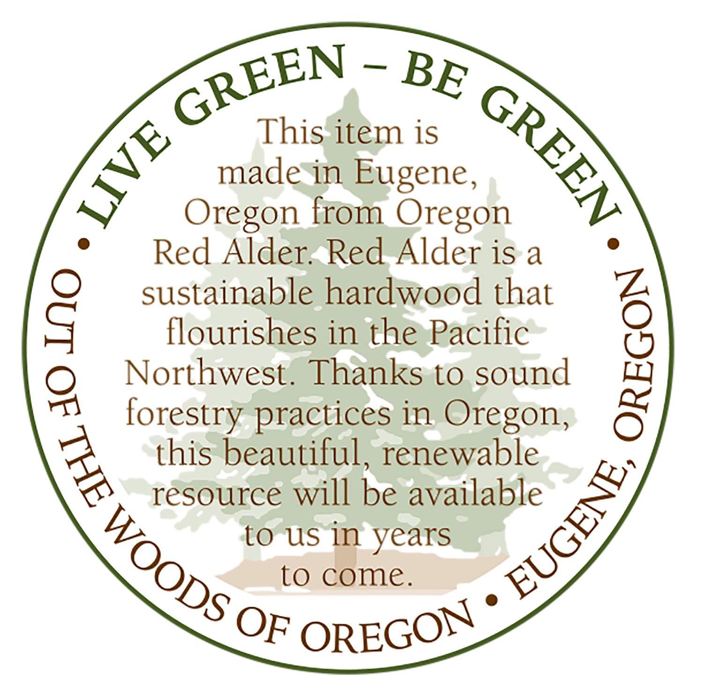 Amazon.com: Out of the Woods of Oregon - Cortador de pan y ...