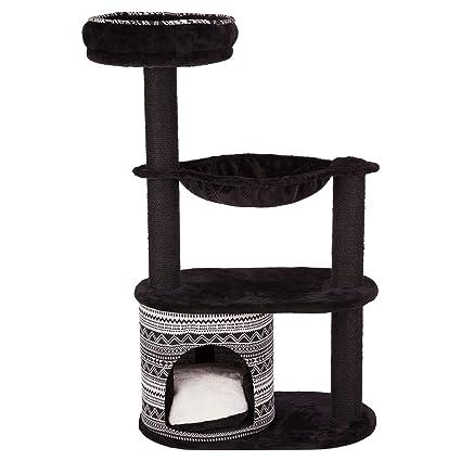 Trixie Giada Árbol de Gato Negro/Blanco 112 cm