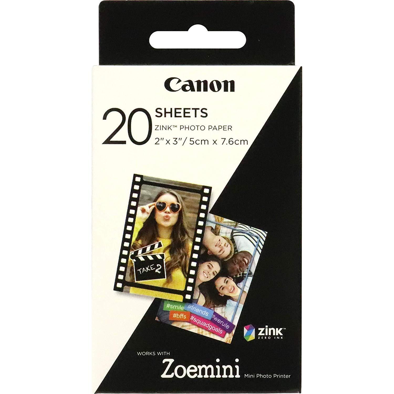 Canon 3214C002zinco ZP 2030, 20fogli di Carta per zoemini Zoemini ZINK