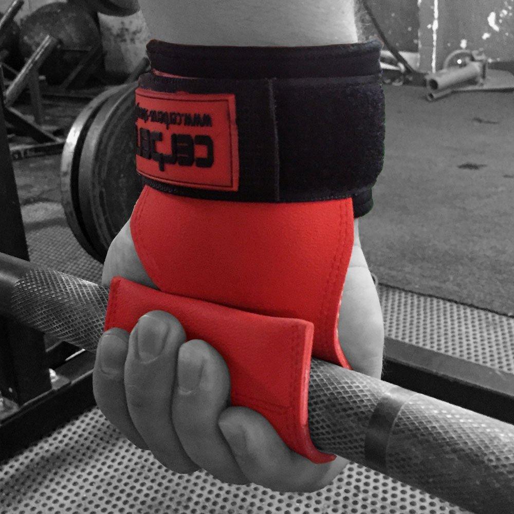 / Cerberus Stength MK2/Multi Grip Handgelenkschutz /Griffhilfe mit Handschutz /& Handgelenkunterst/ützung Paar