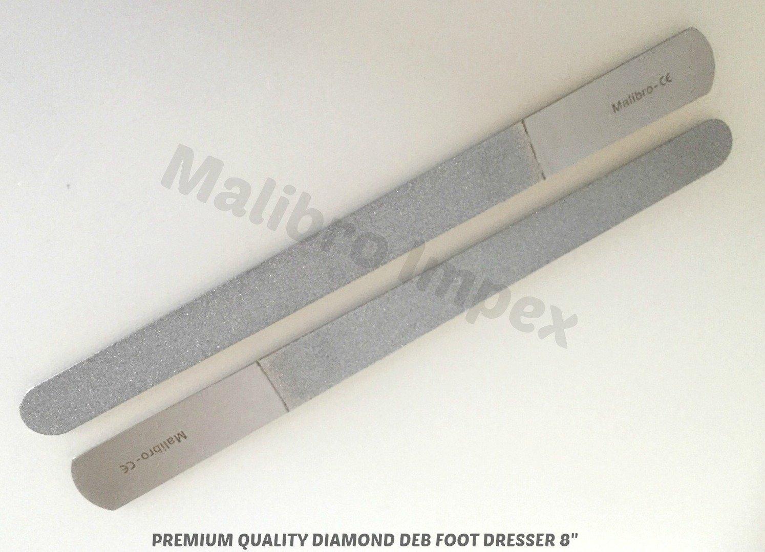 malibro® 1 x Diamant deb Fuß Kommode und Diamant deb Nagelfeile 20,3 ...