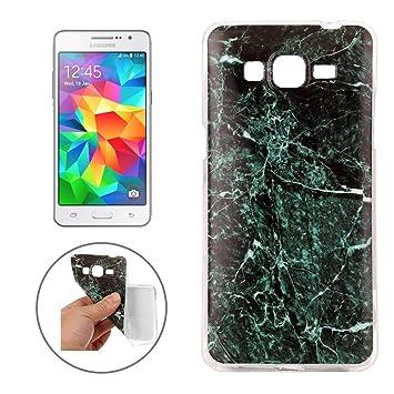 Patrón de mármol suave TPU funda protectora para Samsung ...