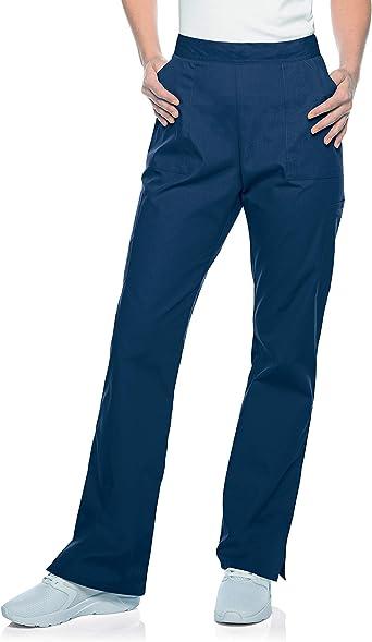 5 Pockets, Modern Tailored Fit, Straight Leg Scrub Pants 83223