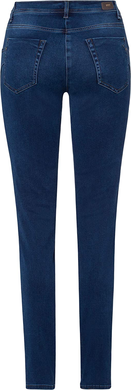Brax Shakira Skinny jeans voor dames Used Regular Blue.