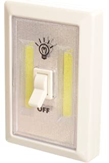 Led Lights Switch: Promier PSWITCH1248 Battery Operated Cordless Light-Switch, 1 piece,Lighting