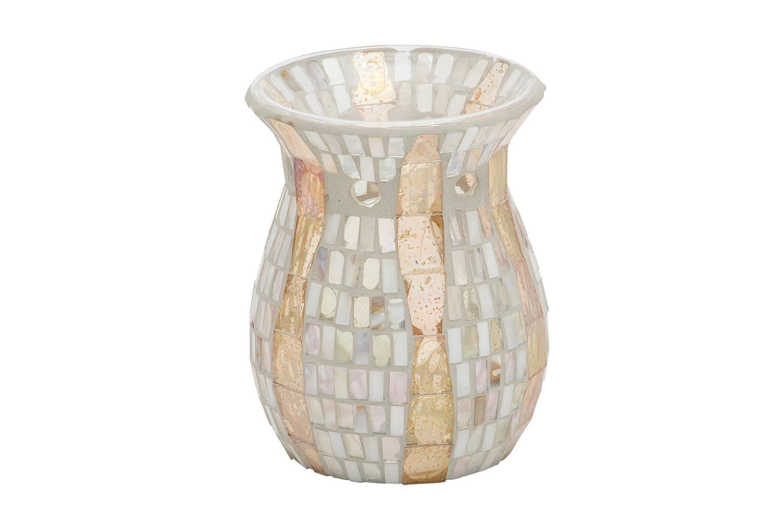 YANKEE CANDLE 1348226 goldwave Duftlampe, vetro, madreperla, 10,5 x 14 cm