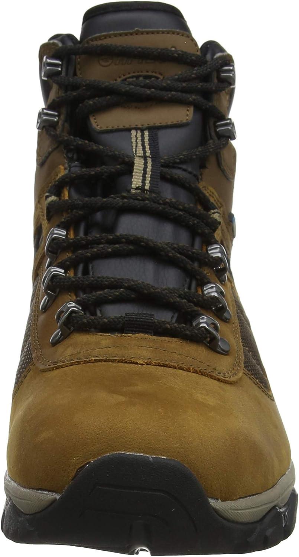 Hi-Tec Men's Ravus Quest Lux Mid Wp High Rise Hiking Boots Brown Teak 42