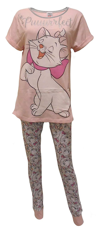 7c35420a4c Disney Aristocats Marie I m Puurrfect Ladies Pajamas at Amazon Women s  Clothing store