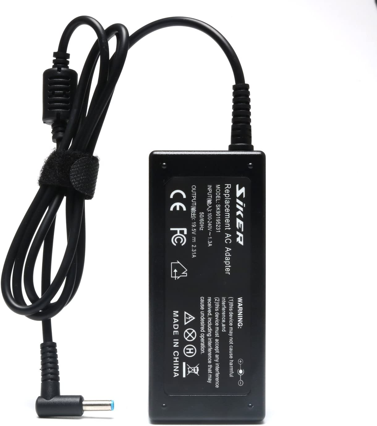 19.5V 2.31A 45W AC Adapter Charger for HP Stream 11 13 14; Split 13 X2; Elitebook Folio 1040 G1; Pavilion X2 11 13 15, Compatible 719309-003 721092-001 741727-001 740015-001