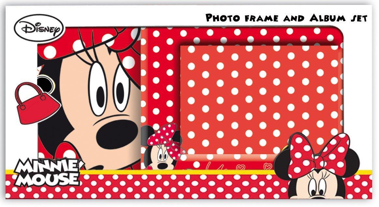 Disney Minnie Mouse Foto Album und Bilderrahmen Minnie: Amazon.de ...