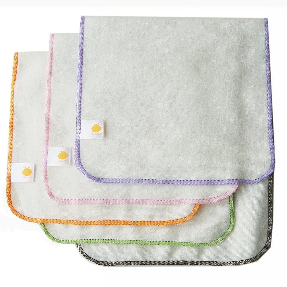 Satsuma Designs Organic Flannel Burp Cloth, 5-Pack 2011172