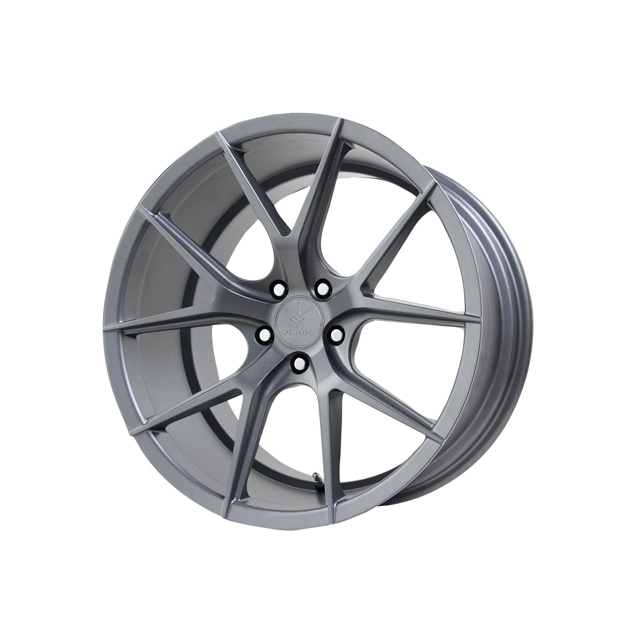 Verde Custom Wheels V99 Axis Matte Graphite Wheel (19x9.5''/5x4.5'')