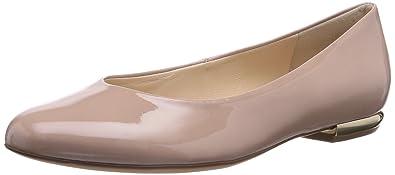 9-101004-0800, Damen Geschlossene Ballerinas, Beige (0800), 36 EU (3.5 Damen UK) Högl
