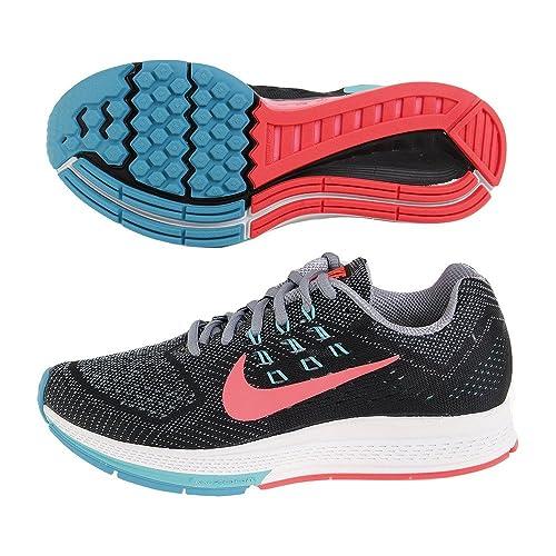 wholesale dealer 916ed 21eb6 Nike Air Zoom Structure 18 - Zapatillas de Running para Mujer, (Magnet  Grey/Black/Hyper Jade/Hyper Punch), 12 M US: Amazon.es: Zapatos y  complementos
