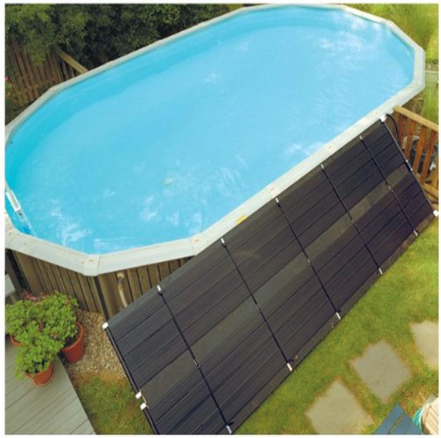 Smart Pool Solar Heating System