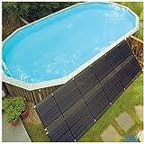 SunHeater WS220P S220 Solar Heating System 2' X 20' Panel, Black